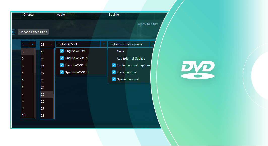 dvdfab blu-ray to dvd converter 特點3