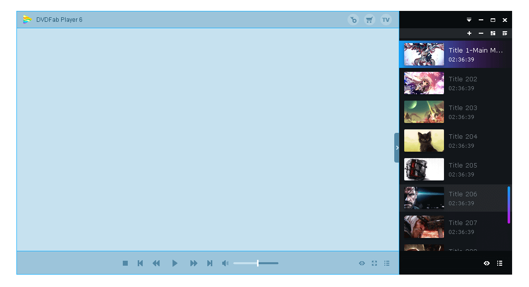 dvdfab media player 特點8